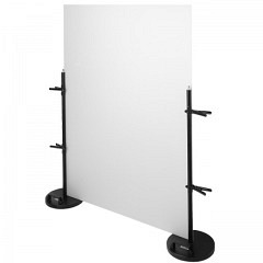 Acrylglasplatte flach, 100 x 123 x 0.3cm glänzend / matt