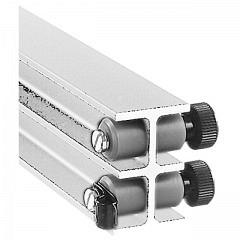 Endpuffer mit Kabelhalter, Set à 2 Stk, ROOF-TRACK