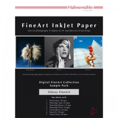 Hahnemühle Glossy FineArt Musterpack A4